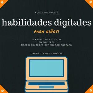 Habilidades digitales para niños