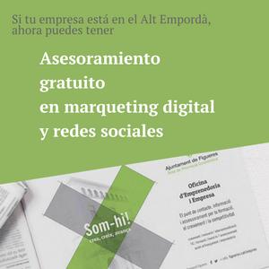 Asesoramiento gratuito en márqueting digital en el Alt Empordà